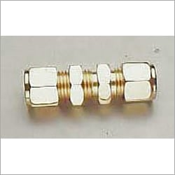 Brass Compression Fitting Bulkhead