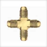 Male Brass Cross
