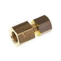 Brass Compression Fitting Female Connector