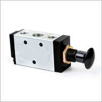SERIES S- 3 Way (3 PORT) AND 4 WAY (5 PORT) PUSH PULL VALVE