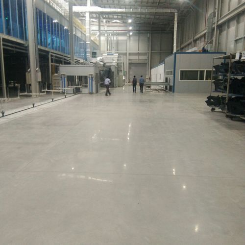 Sodium Silicate Floor Polishing Services