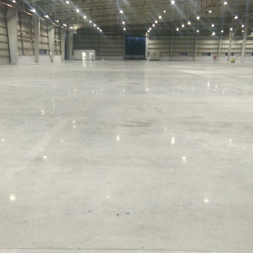 Lithium Silicate Floor Polishing Services