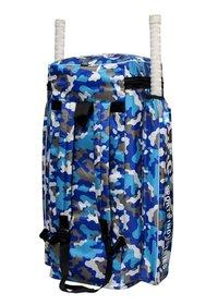 APG Cricket Kit Bag Camouflage Backpack- Blue Print