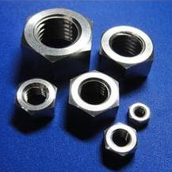 Titanium Hex Nuts Fasterners