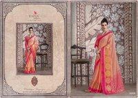 Traditional Banarasi Muslin Silk Sarees