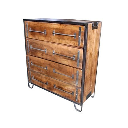 Wood Metal Drawer