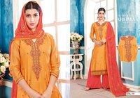 Ethnic Chanderi Silk Salwar Kameez