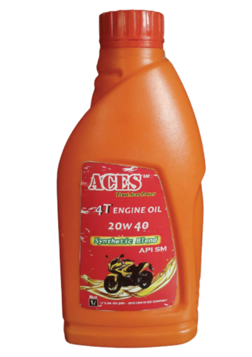 4t Engine Oil  20w40 Sm Synthetic Blend