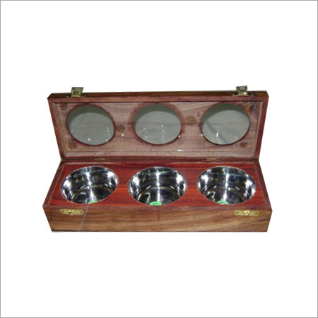 Wooden Cosmetic Box