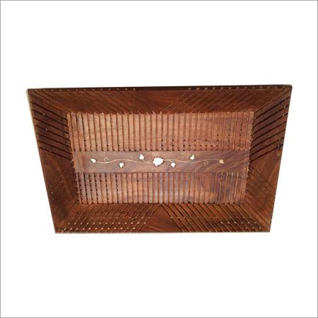 15X10 Wooden Cutter Tray