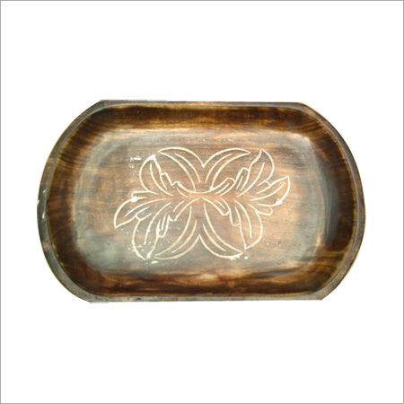 15X10 Wooden Antique Tray