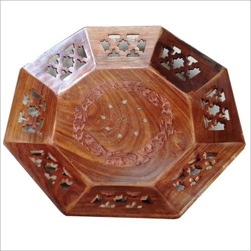 12X12 Pali Wooden Jali Tray
