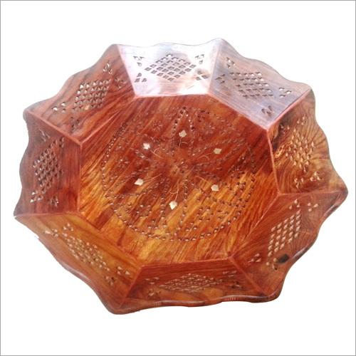 12X12 Pali Wooden Fancy Tray