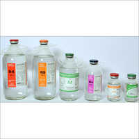 Glass Bottles Liquid Injectable