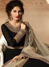 Glossy Heavy Anarkali Salwar Suits