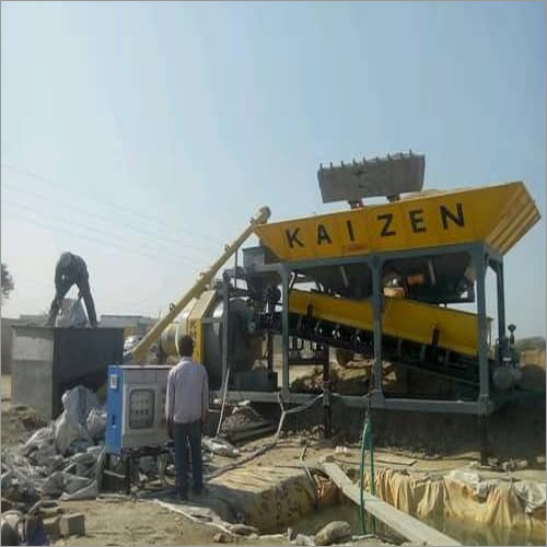Industrial Mobile Concrete Batching Plant