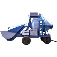 Semi Automatic Reversible Drum Mixer