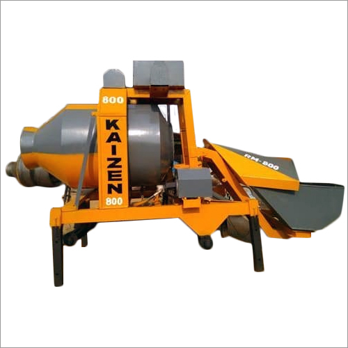 Reversible Drum Concrete Mixer Machine
