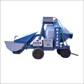Reversible Drum Concrete Mixer