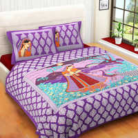 Purple Bed Sheet