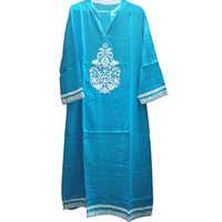 Blue Long Kurti