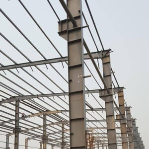 Factory Roof Structure