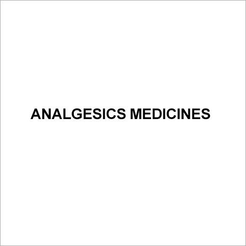 Analgesics Medicines