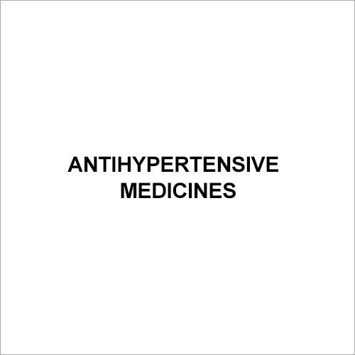 Antihypertensive Medicines