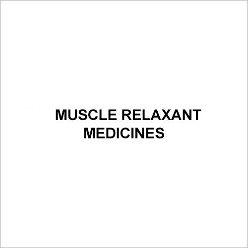 Muscle Relaxant Medicines