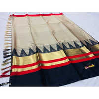 Zari Cotton Silk Saree
