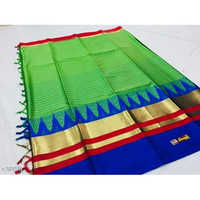 Zari Border Cotton Silk Saree