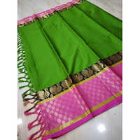 Polka Dots Cotton Silk saree