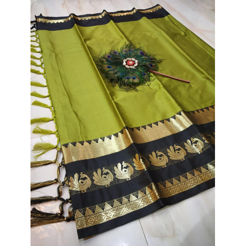 Ladies Elegant Cotton Silk Saree
