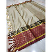 Zari Border Cotton Silk