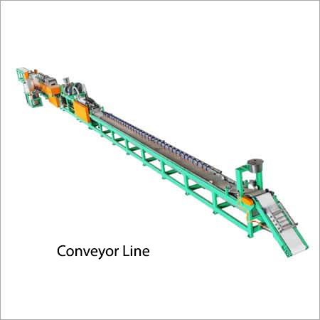 Tube Extruding Conveyor Line