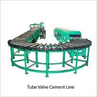 Tube Valve Cement Line