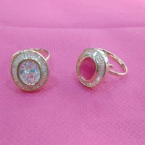 Designer Oval Ring