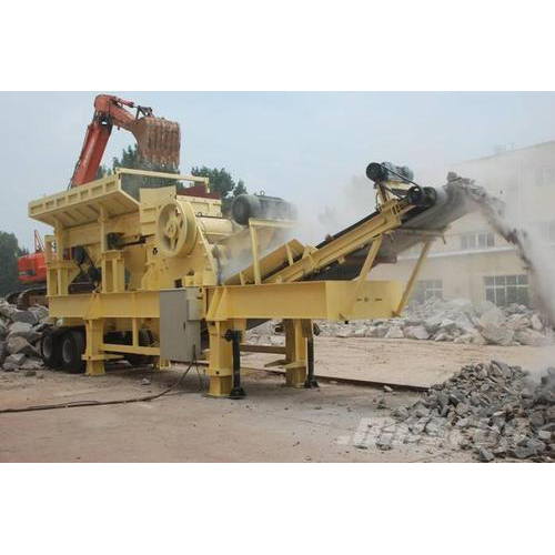 Crushing & Screening Plant Rental Service