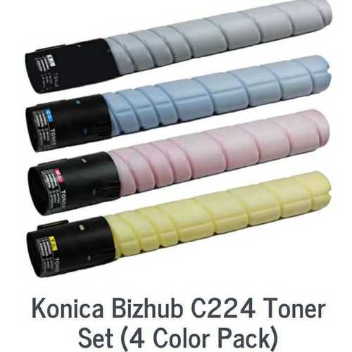 Konica c224 C258 C220 Color Toner CYMK
