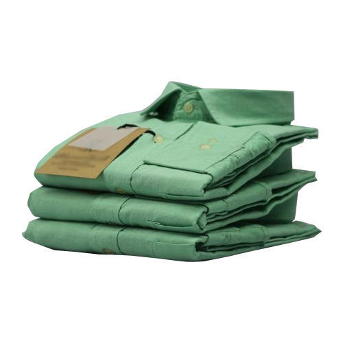 Mens Plain Green Shirt
