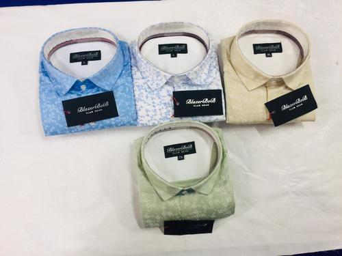 Mens Printed Designer Shirt