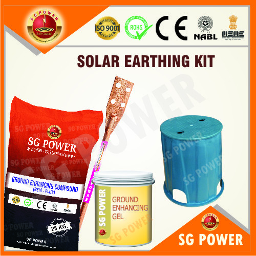 Solar Earthing Kit