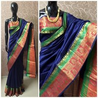 Banarasi crystal silk weaving saree