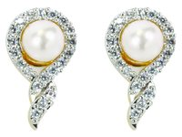 Pearl Dome Earring