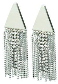 Silver Tear Earring