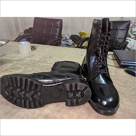 Military Leather Boot