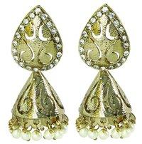 Pearl Lantern Earring