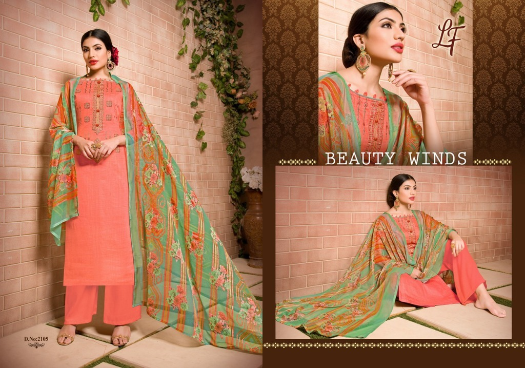 Ladies Cotton Print Salwar Kameez