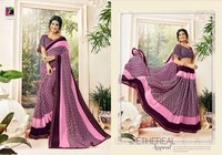 Georgette Printed Fancy Sarees