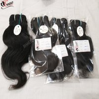 Human Hair Weave Extension Indian Temple Hair